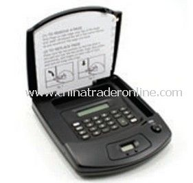 Promotional Phone Index With Clock And Calculator