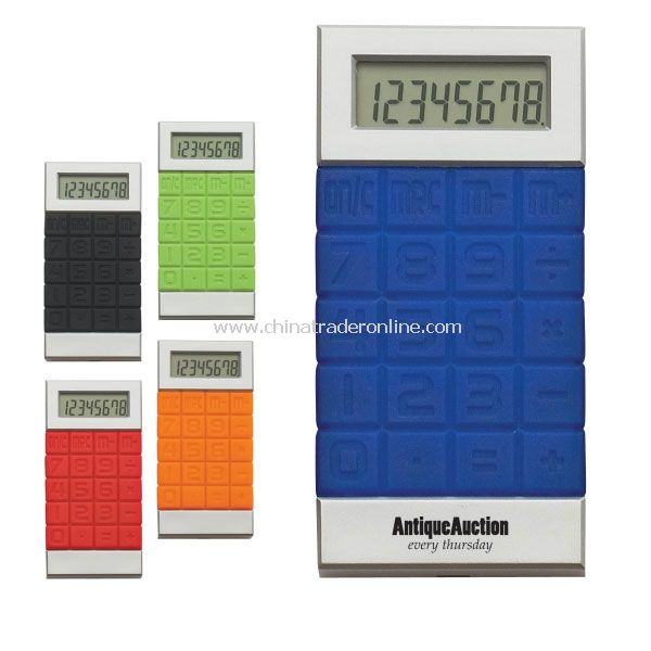 Promotional Silicone Key Calculator