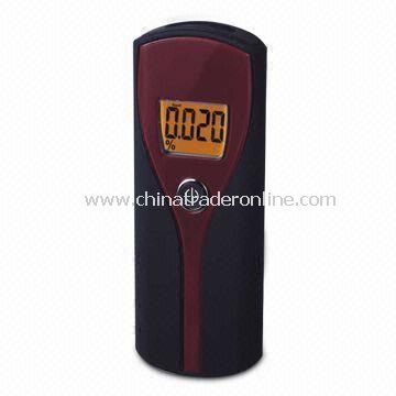 Alcohol Tester, with Low Voltage Indicator, Digital Display Result and Auto Power-off