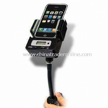 In Car Charger, Suitable for Apples iPhone 3G/3GS with 3.5mm Audio Jack