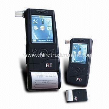 Law Enforcement Alcohol Tester with Fuel Cell Sensor and GB/T 21254-2007/CE MC Marks