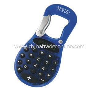Carabiner Calculator- translucent Blue