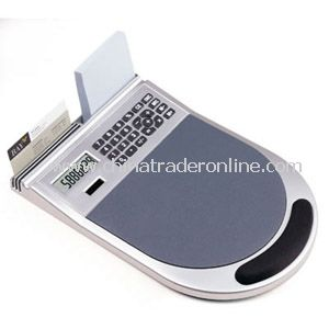 Promotional Mouse Pad Calculator With Cushion