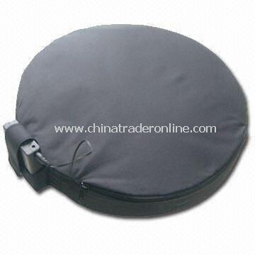 Automatic-puff Air Seat Cushion with Warmer, Sized 36 x 5.5cm