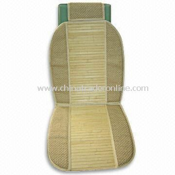 Bamboo and Mesh Car Seat Cushion, Available in Black, Blue, Gray, Red and Beige