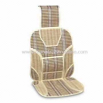 Car Seat Cushion, Made of Bamboo, Comes in Various Colors