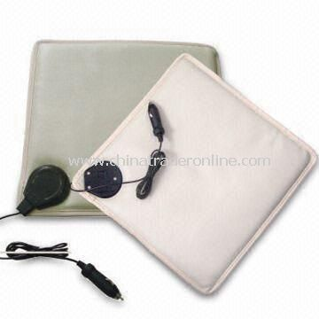 Car Seat Cushion with Heater, 12V Voltage, and 24W Power from China