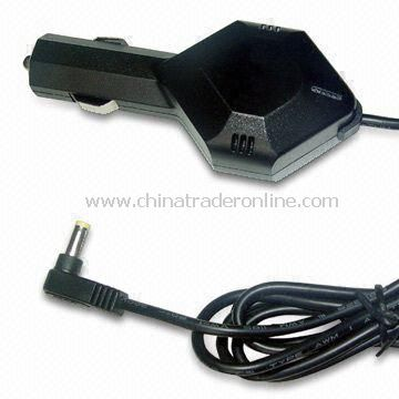In-car Charger with Up to 12V Output Voltage, Compatible with Different Netbook Series