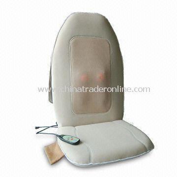 Moving Shiatsu Massage Seat Cushion with Four Kneading Balls at Back