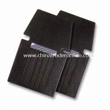 2pcs Car Mat Set, Made of Plastic, Measures 68 x 43cm
