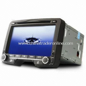 7-inch Digital Touchscreen 2-DIN Car DVD Player, Supports Steering Wheel Control