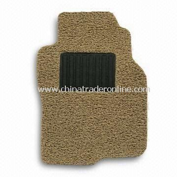 Antislip PVC Coil Car Mat, Customized for Volvo Cars