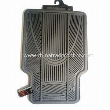Car Accessory PVC Mat, Available in Two Different Colors from China