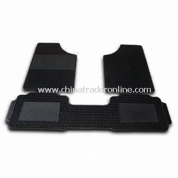 Car Mat with Universal Design that Fits All Car Models, Made of Rubber from China