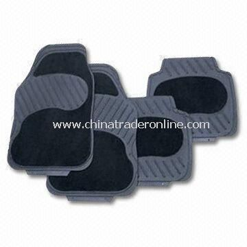 Car Mats, Made of Rubber with Carpet, Various Models are Available