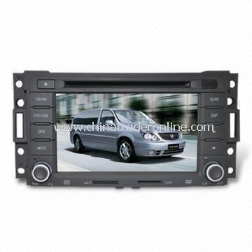 In-dash DVD and GPS Audio and Video Entertainment System for Buick GL8 w/ HD TFT Digital Screen