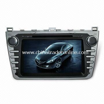 In-dash DVD and GPS Audio and Video System for MAZDA6 with HD TFT Digital Screen from China