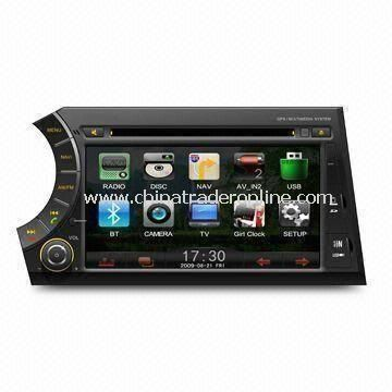 In-dash DVD Player for SsangYong, with USB Port/Navigation Functions, Supports TV/DVB-T