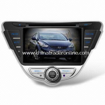 In-dash DVD Player with 7-inch Digital Display, Suitable for Hyundai Elantra 2011