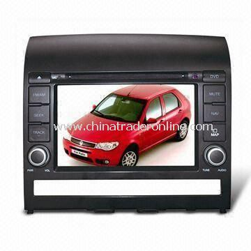 In-dash DVD Player with 7-inch Digital Display and Plays, Suitable for Fiat Palio