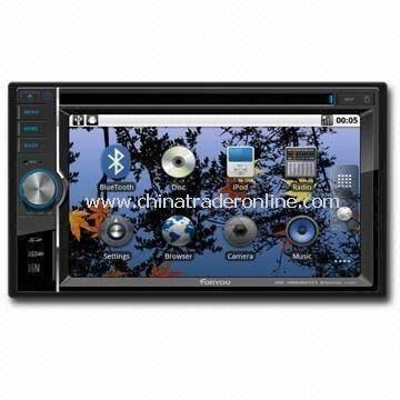 In-dash DVD Player with GPS Car Navigation System, Cortex A8 1GHz ARM Processor and Android 2.2 OS from China