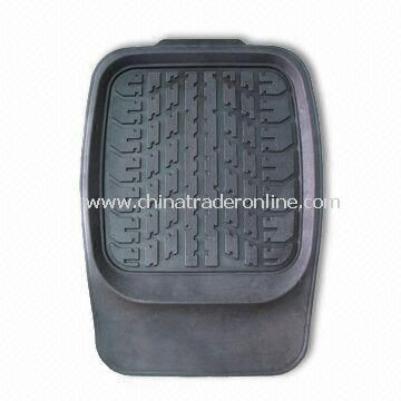 New Style Rubber Car Mat, Measures Front 73 x 54cm and Rear 53 x 51cm