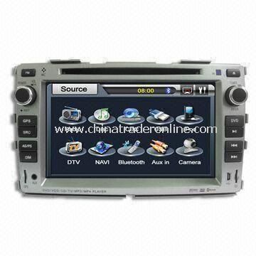 Special Car DVD Player for KIA Forte, Available with Bluetooth and GPS Functions