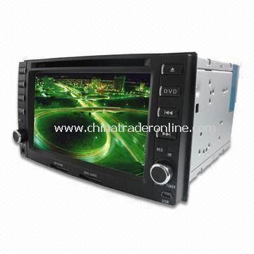 Special Car DVD Player with Bluetooth and GPS Functions, Suitable for KIA Sportage