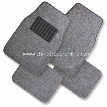 Universal Carpet Car Mats Set, Suitable for All Car Models, OEM Orders are Welcome