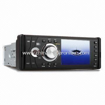 1-DIN In-Dash Car DVD Player with 3.5-inch Digital Screen and Detachable Panel