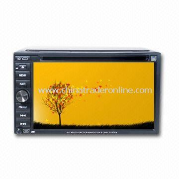 6.2-inch Car DVD Player with Built-in GPS and Navigation System