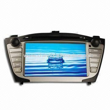 7-inch 2-Din Digital Touchscreen Car DVD Player, Used for Hyundai ix-35