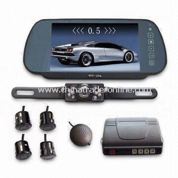 7-inch TFT Screen Parking Sensor System with Camera, Various Kinds are Available from China