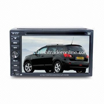 Car DVD Player with Dual Zone Entertainment and Auto Zoom Function