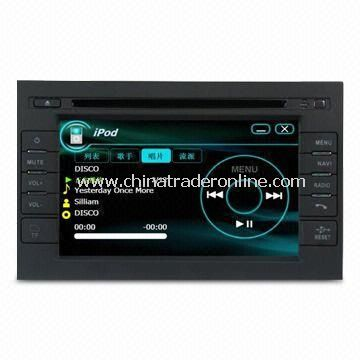 Car DVD Player with GPS for VW B5, Dual Zone Source