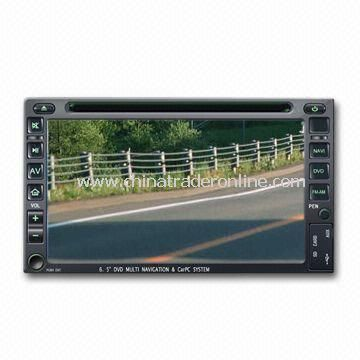 Car DVD Player with iPod Connectivity and Real-time Clock and Calender