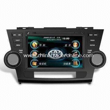 Car DVD Player with Multifunction Key Operation and 6.2-inch Touchscreen