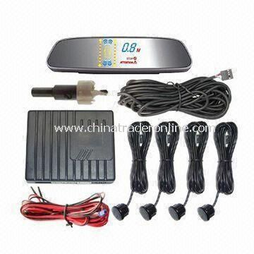 Car Parking Sensor System with Multicolor LED Display and Alarm Functions from China
