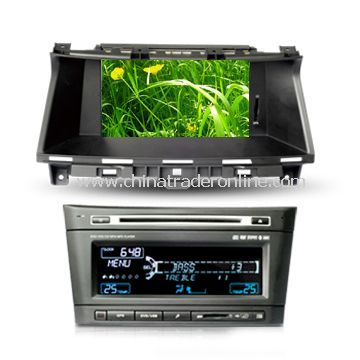 In-dash DVD and GPS Audio and Video Entertainment System for Honda with HD TFT Digital Screen