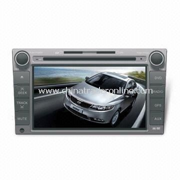 In-dash DVD and GPS Audio and Video Entertainment System for KIA FORTE, with HD TFT Digital Screen from China