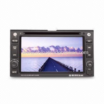 In-dash DVD and GPS Audio and Video Entertainment System for KIA Series w/ HD TFT Digital Screen from China