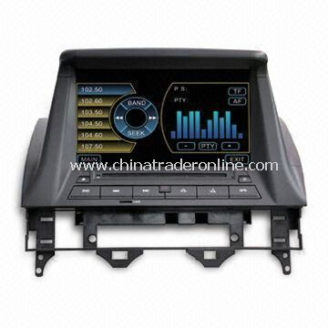 In-dash DVD and GPS Audio and Video Entertainment System for MAZDA, w/ HD TFT Digital Screen