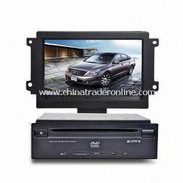 In-dash DVD and GPS Audio and Video System for Nissan Teana w/ HD TFT Digital Screen