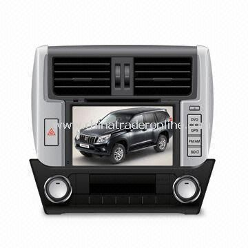 In-dash DVD and GPS Audio and Video System for Toyota Prado 2010 with HD TFT Screen from China