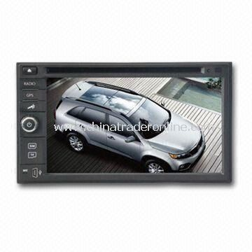 In-dash DVD GPS Audio/Video Entertainment System for Universal Unit, Supports SD Card Port