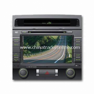 In-dash DVD Player with 8ft LCD TFT HD Digital Screen Display and Plays Music