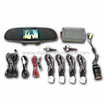 Multi-Media Car Parking Sensor System with Night Vision Camera
