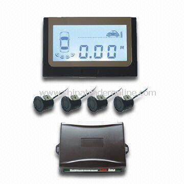 Parking Sensor System with LCD Display and Warning Sound