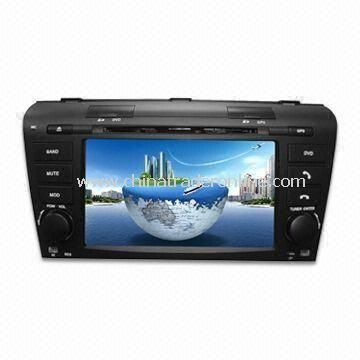 Special Car DVD Player with 7 Inches LCD Screen, Bluetooth and GPS Function, Suitable for Mazda 3 from China