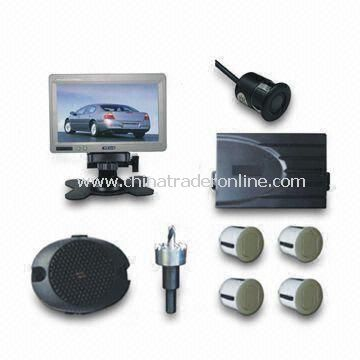 TFT Video 7-inch Monitor Parking Sensor System with Camera from China